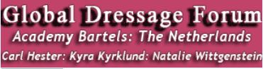 Global Dressage Forum: Netherlands Academy Bartels