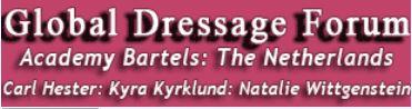 Global Dressage Forum: Netherlands Academy Bartels