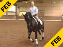 Hubertus Graf Zedtwitz<br>Riding & Lecturing<br>Rispy Crispy<br>Oldenburg<br>8 yrs. old Gelding<br>Training: Prix St. George<br>Duration: 38 minutes