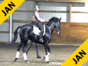 Michael Klimke<br> Assisting<br> Lisa Pierson<br> Rubes De Mesille<br> Hanoverian<br> by: Rubenstein<br> 10 yrs. old Gelding<br> Training: PSG/ 4th Level<br> Duration: 30 minutes