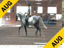 Conrad Schumacher<br> Assisting<br> Isabel Dopta<br> Naron<br> by: Nagano<br> Oldenburg<br> 15 yrs. old Gelding<br> Training: PSG <br> Owner: Isabel Dopta<br> Duration: 37 minutes
