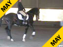 Felicitas von Neumann<br> Riding & Lecturing<br> Roo<br> Dutch Warmblood<br> 14 yrs. Old<br> Training: 2nd  Level<br> Duration: 38 minutes