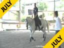 Cesar Parra<br> Assisting<br> Hokan Thorn<br> Stonefire<br> Swedish Warmblood<br> 10 yrs. old Stallion<br> Training Grand Prix<br> Duration: 28 minutes