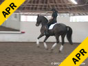 Day 2<br> Jan Brink<br> Assisting<br> Courtney Lautman<br> Figaro<br> Wesfalian<br>by: Fiedermark<br> 9 yrs. old Gelding<br> Training: 3rd  Level<br> Owner: Coyrtney Lautman<br> Duration: 44 minutes