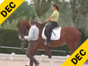 Juan Matute<br>Assisting<br> Furst Song<br>Paloma Parge<br>Newly Broke<br> 3 yrs. old Gelding<br>Lunging & Riding<br>Westphalian<br>Training: Green Broke<br>Duration: 23 minutes
