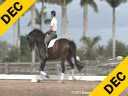 Kathy Connelly<br> Assisting<br> Ryan Yap<br> ZZ Top<br> KWPN<br> 4 yrs. old Gelding<br> Training: First Level<br> Owner: Kathy Connelly<br> Duration: 25 minutes