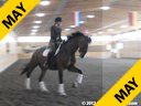 Day 2<br> Heike Kemmer<br> Assisting<br> Diana Mukpo<br> Rubato<br> 6 yrs. old<br> Training: PSG/I1<br>   Owner: Donna Cameron<br> Duration: 36 minutes
