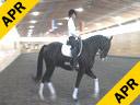 Day 3<br> Heike Kemmer<br> Assisting<br> Kristen Schwaegerie<br> Jester<br> Danish Warmblood<br> Gelding<br>   Training: PSG Level<br> Owner: Kristen Schwaegerie<br> Duration: 28 minutes