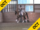 Jeremy Steinberg<br> Assisting<br> Lauren McLoud<br> Odelmar<br> KWPN<br> 13 yrs. old Gelding<br> Training: 3rd/4th Level<br> Duration: 44 minutes