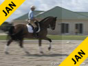 Felicitas Von Neumann<br> Riding & Lecturing<br> Bamol<br> Russian Warmblood<br> 11 yrs. old Gelding<br> Training: 3rd Level<br> Duration: 17 minutes