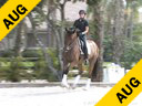 Heike Kemmer<br> Assisting<br> Joy Bahniuk<br> Safari  ISF<br> Dutch Gelding<br> 11 yrs. old<br>  Training: PSG Level<br> Duration: 31 minutes