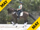 Jeremy Steinberg<br> Assisting<br> Samantha Reid<br> Bubbles<br> KWPN<br> 4 yrs. old Gelding<br> Training: Training Level<br> Duration: 32 minutes