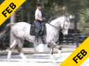Kathy Connelly<br> Assisting<br> Laine Hill<br> Ukarde<br> KWPN<br> by: BioTop<br> 9 yrs. old Gelding<br> Training: 4th Level<br> Duration: 32 minutes