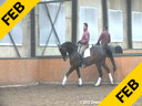 Johann Rockx<br> Refining the Passage& Piaffe<br> Riding & Lecturing<br> Verdi de la Fazenda<br> KWPN<br> by: Florett out<br> of Sandro Hit<br> 8 yrs. old Gelding<br> Training: Grand Prix Level<br> Duration:33 minutes