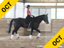 Hans Biss<br> Assisting<br> Jerry Lyons<br> Laurentide Ice<br> Hanoverian<br> Lehncritter<br> 12 yrs. old Gelding<br> Training: 1st Level<br> Owner: Jerry Lyons<br> Duration: 39 minutes