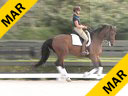 Charles De Kunffy<br> Assisting<br> Cassie Schmidt<br> Valencio<br> 13 yrs. Old Dutch  Gelding<br> Training: FEI Juniors 3rd Level<br> Owner: Cassie Schmidt<br> Duration: 32 minutes