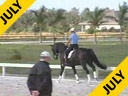 Hubertus Schmidt<br>Assisting<br>Kathy Priest<br>Shostakovich<br>Belguim Warmblood<br>11 yrs. old<br>Training: Grand Prix<br>Duration: 33 minutes