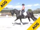 Jessie Steiner<br> Riding & Lecturing<br> Raissa<br> 11 yrs. old Mare<br> Rhinelander<br> Training: 4th  /PSG Level<br> Owner: Mario Mazza<br> Duration: 43 minutes
