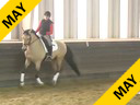IDCTA Illinois Dressage & Combined Training Association<br> George Williams<br> Assisting<br> Amy Grahn<br> Zabaco<br> 11 yrs. Old  Gelding<br> Dutch Warmblood<br> Training: I2<br> Duration: 50 minutes