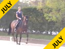 Shannon Dueck Riding & Lecturing Aysha 15 yrs. Old Mare Oldenburg Training:  GP Duration: 60 minutes