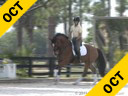 Mette Rosencrantz<br> Riding & Lecturing<br> Finally<br> 10 yrs. old Gelding<br> Hanoverian<br> by: De Niro<br> Training: I/1 Level<br> Owner: Finally Partners LLC.<br> Duration: 36 minutes