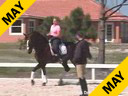 Hubertus Schmidt<br>Assisting<br>Heidi Degele<br>Everybody's Darling<br>Westfalen Gelding<br>12 yrs. old<br>Training: Grand Prix<br>Duration: 29 minutes