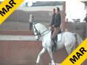 Hubertus Graf Zedtwitz<br> Riding & Lecturing<br> Pinta<br> 9 yrs. old Sachen Mare<br> Owner: Karina Seitz<br> Training: M level<br> Duration: 42 minutes
