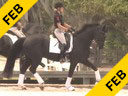 Anne Gribbons<br> Assisting<br> Jessica Beier<br> Atticus<br> 10 yrs. old Dutch Gelding<br> Contango/Idocus<br> Training: 4th Level<br> Duration: 46 minutes