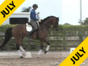 Jan Brons<br> Riding & Lecturing<br> Zonneglans<br> by: Rubin Royal<br> KWPN<br> 8 yrs. old Gelding<br> Training: 4th Level/PSG<br> Owner: Prentiss Partners<br> Duration: 49 minutes