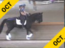 NEDA<br> Rien van der Schaft<br> Assisting<br> Judy Wright<br> Tome<br> 16 yrs. Old Stallion<br> Lusitano Pony<br> Training: GP<br> Duration: 28 minutes