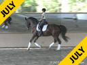 Anne Gribbons<br> Assisting<br> Laura Graves<br> Verdades<br> by: Florett AS<br> KWPN<br> 10 yrs. old Gelding<br> Training: 1-1-/1-2 Level<br> Owner: Laura Graves<br> Duration: 60 minutes