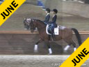 Sharon McCusker<br> Riding & Lecturing<br> Wrigley<br> 9 yrs. old Gelding<br> Training: GP Level<br> Owner: Sharon McCusker<br> Duration: 31 minutes