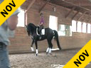 Christoph Hess<br> Assisting<br> Lisa Pierson<br> Rubes De Mesille<br> Hanoverian<br> 10 yrs. old Gelding<br> by: Rubenstein<br> Training: PSG/ 4th Level<br> Owner:Brendon Condon<br>       &<br> Heidi Torpey<br> Duration: 59 minutes