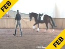 Felicitas Von Neumann<br> Riding & Lecturing<br> Belle Amour<br> Oldenburg<br> by: Benvolio<br> 6 yrs. old Mare<br> Training: Training Level<br> Owner: Mary May<br> Duration:28: minutes