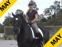 Jane Hannigan<br>Riding & Lecturing<br>Maksymillian<br>Understanding the<br>Stiff & Hollow Horse<br>13 yrs. old Oldenburg<br>Training:Grand Prix<br>duration:21 minutes