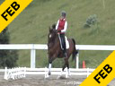 Arthur Kottas<br> Assisting<br> Kimberly Noon-Fischel<br> Reve D&#039;amour<br> Hangarian Warmblood<br> 15 yrs. old Mare<br> Training:I/1 Owner: Tom Fischel<br> Duration:34 minutes