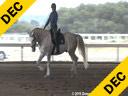 Arthur Kottas<br> Assisting<br> Petra Beltran<br> Generalissimus Serpa<br> Kladruber<br> 5 yrs. old Gelding<br> Training: Training Level<br> Owner: Petra Beltran<br> Duration:45 minutes