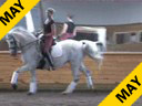 Lendon Gray<br>Assisting<br>Claire Glover<br>Klarinetles<br>KWPN<br>16 yrs. old Mare <br>Training: Grand Prix<br>Duration:45 minutes