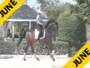 Conrad Schumacher<br> Assisting<br> Jen Beaument<br> Lancelot<br> Danish<br> 11 yrs. old Gelding<br> Training: 1-1<br> Duration: 50 minutes