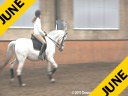 Penny Rockx Assisting Shani Pitcho Ofensa by: Lusitano Owned by: Johann & Penny Rockx 14 yrs. old Mare Training: GP Duration: 44 minutes