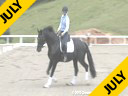 Arthur Kottas<br> Assisting<br> Heidi Knipe<br> Baryshnikov<br> KWPN<br> by: Gribaldi<br> Owner: Heidi Knipe<br> 4 yrs. old Stallion<br> Training:Pre-Training<br>  Duration: 50  minutes
