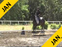 Andreas Hausberger<br> Assisting<br> Anke Herbert<br> Fandango<br> 12 yrs. Old Gelding<br> Training: Int-2/GP<br> Duration: 26 minutes
