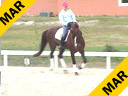 Hubertus Schmidt<br> Assisting<br> Heidi Degele<br> Everybody's Darling<br> Westfalen<br> 12 yrs. old Gelding<br> Training: Grand Prix<br> Duration: 26 minutes