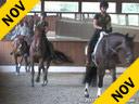 Mette Rosencrantz<br> Assisting<br> Anna Dahlberg<br> Hielo Mor<br> 10 yrs. old  PRE-Stallion<br> Training: 1st/2nd Level<br> Owner: Lisa McDowell<br> Duration: 32 minutes