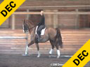Leslie Reid<br> Assisting<br> Wendy Christoph<br> Phalstaff<br> Hanoverian<br> 15 yrs. old Gelding<br> Training: GP Level<br> Owner: Wendy Christoph<br> Duration: 21 minutes