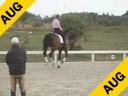 Hubertus Schmidt<br>Assisting<br>Nancy Smith<br>Donneur<br> by: Donnergraf<br>Owner: Caroline Ashton<br>10 yrs. old Gelding<br>Training: PSG / I-1<br>Duration: 32 minutes