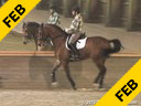 Jan Brons<br> Riding & Lecturing<br> Tento Bod<br> KWPN<br> by: Lord Sinclair<br> 12 yrs. old Gelding<br> Training: GP Level<br> Owner: Carlene Blunt<br> Duration: 50 minutes