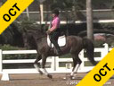 Jan Brink<br> Assisting<br> Kya Enderson<br> Sofie<br> Hanoverian<br> 8 yrs. Old Mare<br> Training: 3rd Level<br> Duration 45 minutes