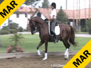 Guenter Seidel Assisting Bettina Loy Walentino KPNA by:Florett As 7 yrs. old  Gelding Training: 4th/PSG Level Owner: Bettina Loy  Duration: 44 minutes