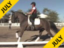 Jan Brink<br> Assisting<br> Sallie Spenard<br> Fendi<br> Warmblood<br> Training: PSG<br> Duration: 40 minutes